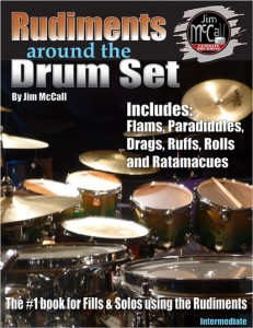 Rudiments around the Drum Set