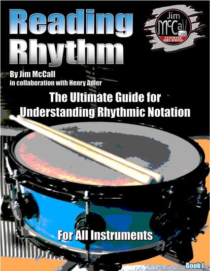 Reading Rhythm Drum Instructional Book