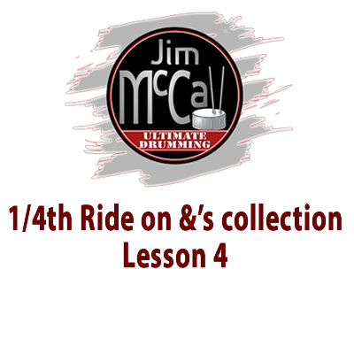 1 4th Ride on &'s Videol lesson 4