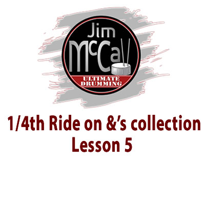1 4th Ride on &'s Videol lesson 5