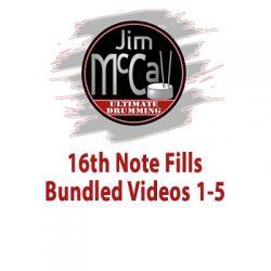 16th Note Fills Bundled Videos 1-5