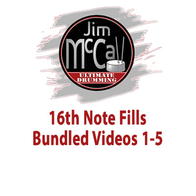 16th Note Fills Bundled Videos 1-5
