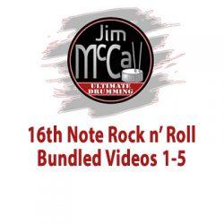 16th Note Rock n' Roll Bundled Videos 1-5