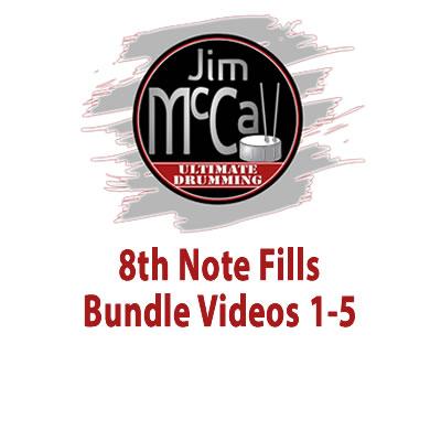 8th Note Fills Bundle Videos 1-5