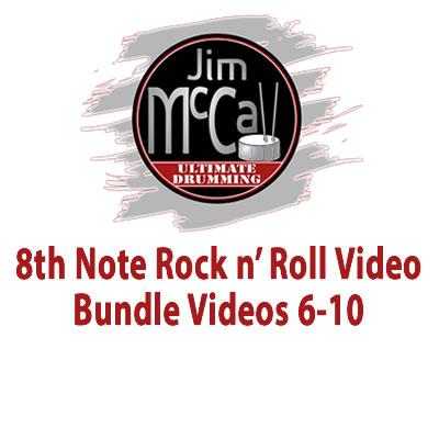 8th Note Rock n' Roll Video Bundle Videos 6-10