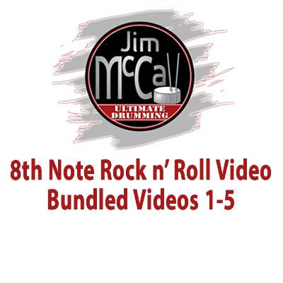 8th Note Rock n' Roll Video Bundled Videos 1-5