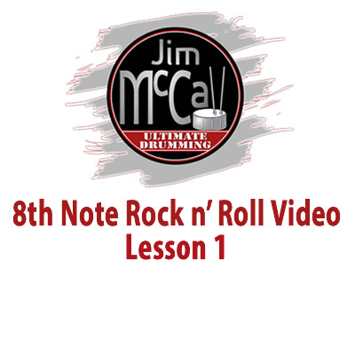 8th Note Rock n' Roll Vodeo Lesson 1
