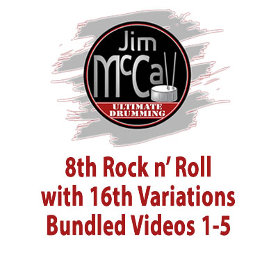 8th Rock n' Roll with 16th Variations Bundled Videos 1-5
