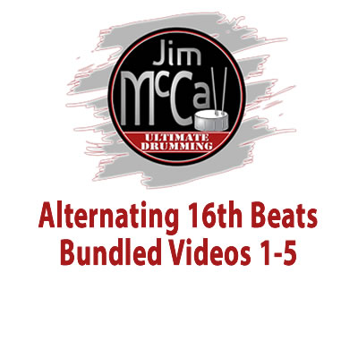 Alternating 16th Beats Bundled Videos 1-5