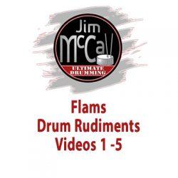 Flams Drum Rudiments Videos 1 -5