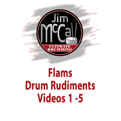 Flams Drum Rudiments Videos 1 -5