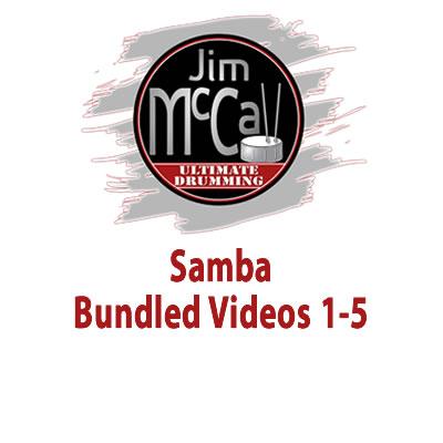 Samba Bundled Videos 1-5