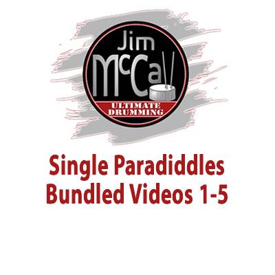 Single Paradiddles Bundled Videos 1-5