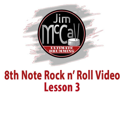 8th Note Rock n' Roll Vodeo Lesson 3