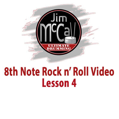 8th Note Rock n' Roll Vodeo Lesson 4
