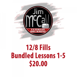 12/8 Fills Bundled Lessons 1-5