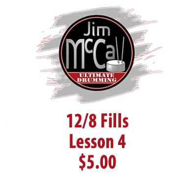 12/8 Fills Lesson 4