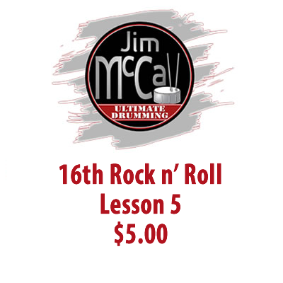 16th Rock n' Roll Lesson 5