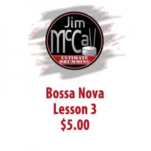 Bossa Nova Lesson 3