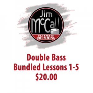 Double Bass Bundled Lessons 1-5