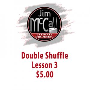 Double Shuffle Lesson 3