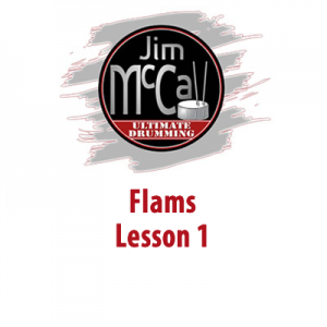 Flams Lesson 1