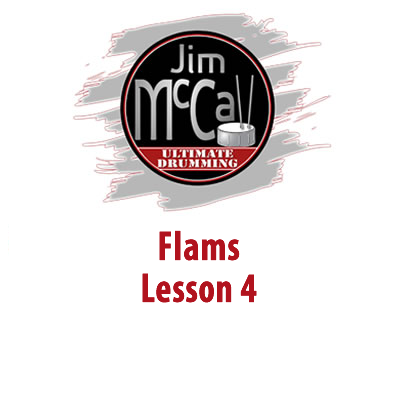 Flams Lesson 4