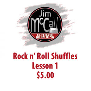 Rock n' Roll Shuffles Lesson 1