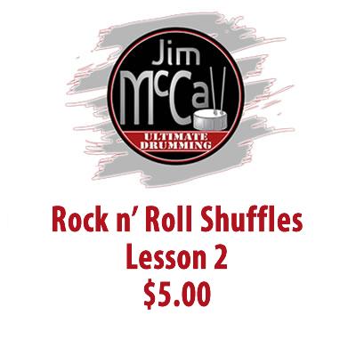 Rock n' Roll Shuffles Lesson 2