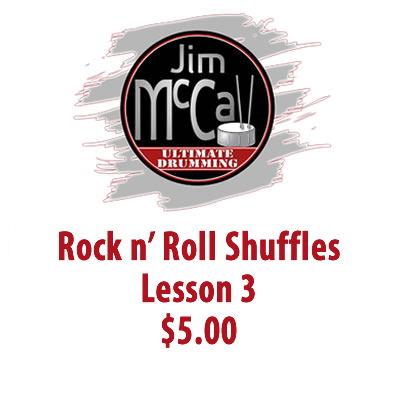 Rock n' Roll Shuffles Lesson 3