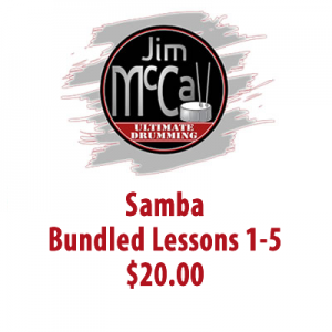 Samba Bundled Lessons 1-5
