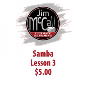 Samba Lesson 3