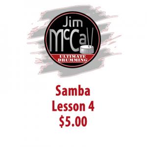 Samba Lesson 4