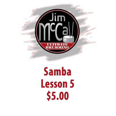 Samba Lesson 5