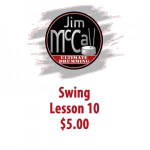 Swing Lesson 10