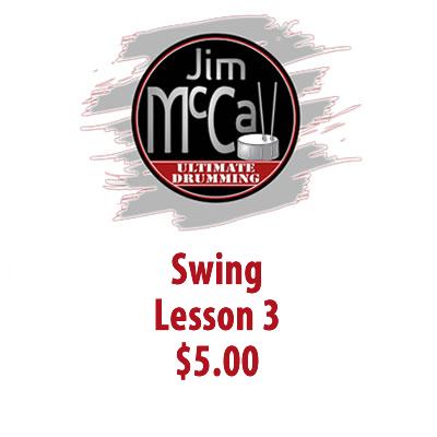Swing Lesson 3
