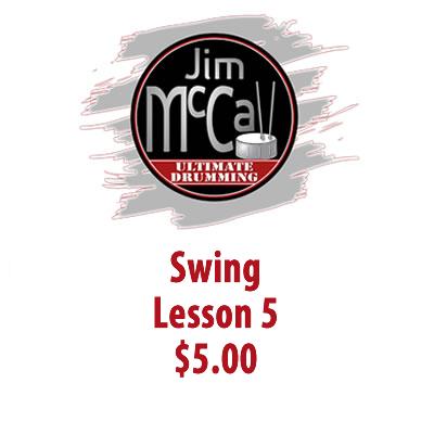 Swing Lesson 5
