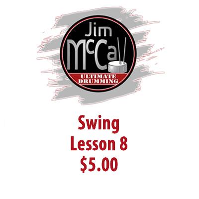 Swing Lesson 8