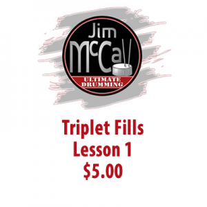 Triplet Fills Lesson 1