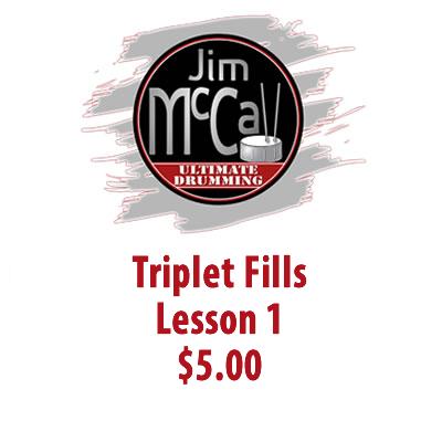 Triplet Fills Lesson 1