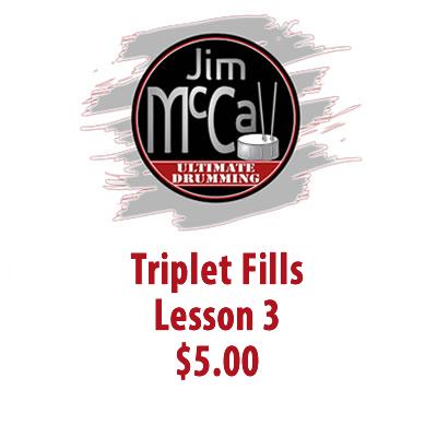 Triplet Fills Lesson 3