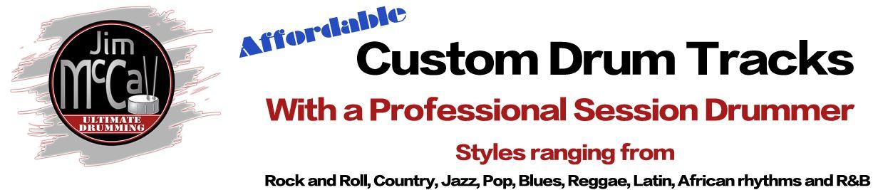 Custom Drum Tracks Header